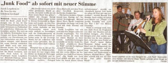 Zeitung SZ 17-12-2005