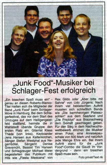Zeitung SZ 21-09-2001